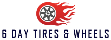 6 Day Tire & Wheels Logo